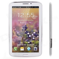 "JXD P1000m 7"" HD Capacitive Dual Core Android 4.2 Phone Call Tablet PC w/ Dual-SIM / Wi-Fi / G-sensor"