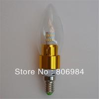 3pcs corn LED SMD 3014 crystal light candle lamp head  E17 B15 E12 E27 E14 360 Hassle-free energy-saving healthy light