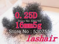 individual eyelashes false eyelashes human hair 0.25D16mm