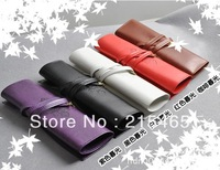 New vintage series pencil Bag /  twilight leather pen case / Cosmetic Pouch /Creative stationery Wholesale