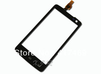 Black Original Touch Screen Digitizer For Philips W732 + free shipping