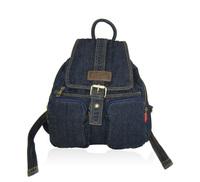 Denim women's bag beautiful vintage denim backpack street all-match female travel bags jean canvas bag p37