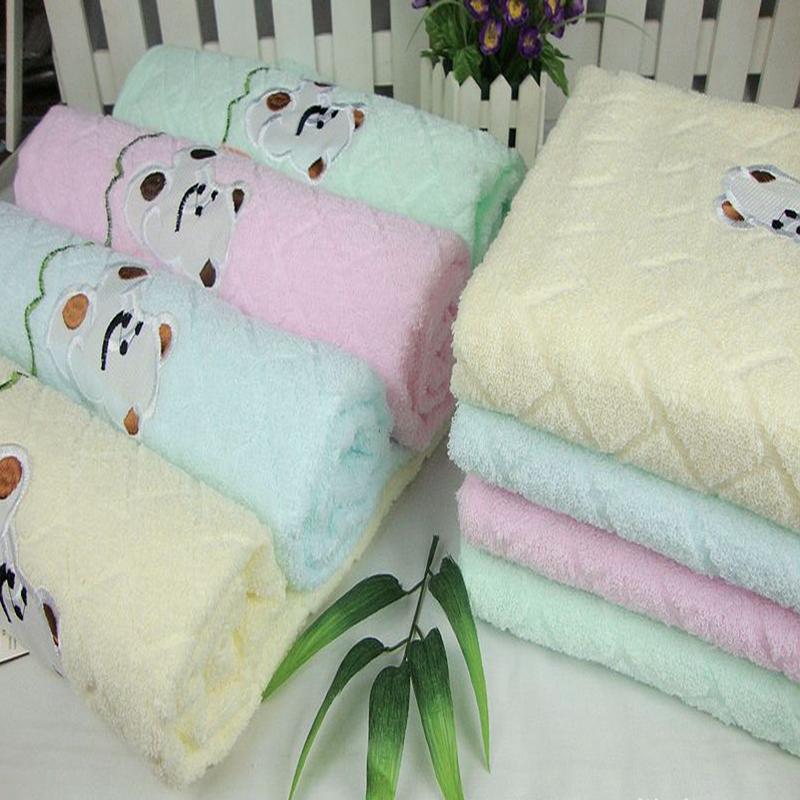 Yarn plain bear towel finaning belt 100% cotton absorbent towels 70 140 260g(China (Mainland))