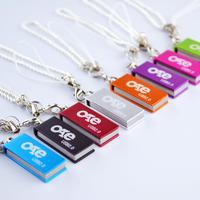 Free shipping mini 16G usb flash drive stainless steel waterproof high speed rotation usb flash drive 16G