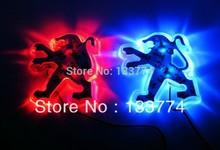 Super cheap PEUGEOT 206 207  308  208 The logo of Led light(China (Mainland))