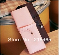 Free shipping Romantic Cherry Retro Style Pencil Bag,Pen Pouch, Cosmetic Bag,Pen Case Creative Stationery