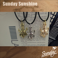 Supernatural Inspired Dean's Amulet Dean Winchester Pendant Necklace American TV Series amulet necklaces & pendants