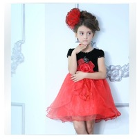 2014 New Arrival Princess Dress Wedding Party Flower Girl Dresses Girls' Gown,children clothing summer,fashion clothes