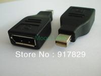 Mini DisplayPort To Displayport Female Adapter Mini DP To DP Female adpter Cable For Macbook