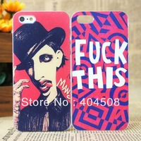 new coloured drawing hard back cover shell skin for iPhone 5 5S Free Shipping Cool cell phone case ultrathin mobile case