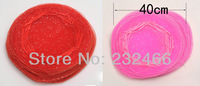 Round Organza Bags 40cm,Drawable Wedding Gift Bags & Pouches,100pcs/lot,Wholesal Price