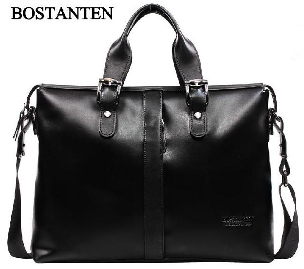 2014 New P.kuone Men Bag Brand Handbag Genuine Leather Bags Cowhide