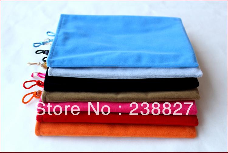 data buy velvet cover case for tablet pc pad 5, 7, 8, 10 inches User