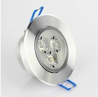 Whole sale!!10Pcs/Lot 3W 300LM White/Warm White LED Ceiling Lights LED Downlight