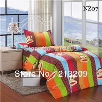 Promotion twin size 3pcs bedding sets/bedclothes/ duvet cover set, bed sheet the bed linen home textile