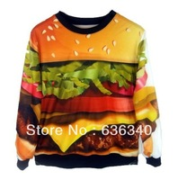2013 new autumn and winter coat ladies apparel printing Hamburg galaxy sweatshirt hoodies