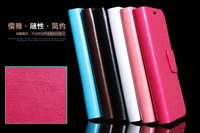 PU Leather Wallet Stand case for Samsung Galaxy Note 2 II N7100 Luxury Mobile Phone with 2Card holder