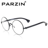 Parson glasses circle vintage plain mirror glasses frame plain mirror glasses frame eyeglasses frame