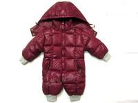 2012 bodysuit child mo ler down coat baby clothes romper children's clothing down coat