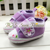 free shipping !flower Beautiful children's shoe Baby Shoes color leopard soft sole baby shoe BOS.lk070