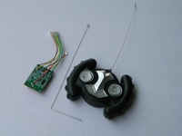 Free shipping + Four-way remote control circuit board launch board receiver board aerial