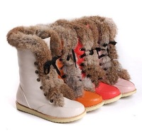 Hot Women's/Girls Autumn Winter Fashion Snow Boots Fur Boots 4Color Size:US5-9