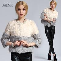 2013 wool fur coat female fur berber fleece short slim design