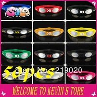 New year  XB monster Anion power silicone wristband bracelet  Random delivery hologram bracelets 50pcs /lot free shipping