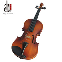 Handmade quality matt violin adult child musical instrument comfortable