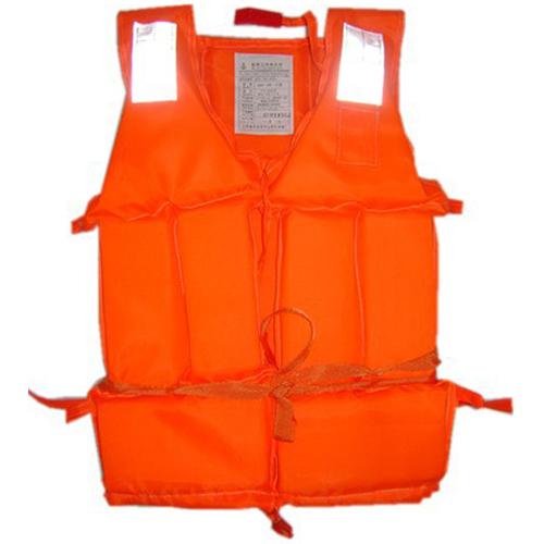1PCS free Shipping Orange Useful Prevention Flood Adult Foam Swimming Life Jacket Vest Whistle(China (Mainland))