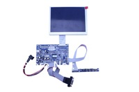 VGA+AV LCD controller  board +5.6 inch LCD panel  with 640*480 +OSD keypad with cable