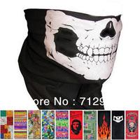 Free shipping Multifunctional Evaporation Bandana Kerchief CS CF Magic Seamless Scarf Mask Outdoor Bandanas