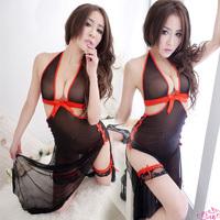 Sexy transparent skimpily uniforms usuginu full dress open file milk tight-fitting set temptation 902
