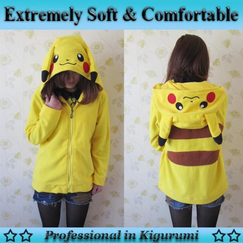 Despacho de William, líder del CP4, ¿qué desea?~~  Newest-font-b-Pikachu-b-font-font-b-Hoodies-b-font-Hot-Sell-Cosplay-Coat-Sweatshirt
