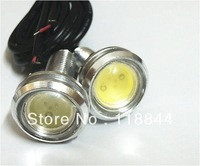 2PCS 9W LED Eagle Eye Car Up Reverse Lamp Daytime Running Light DRL White Bulb Angel Eyes Free Shipping