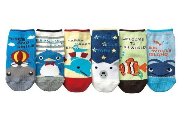 6 Pairs/Lot Hot Cute Cartoon Animal Baby Socks For Boys And Girls Cotton Sock For Newborns(China (Mainland))