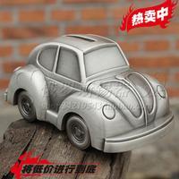 Sale Toy metal  tin piggy bank vintage car volkswagen Beetle Money boxes