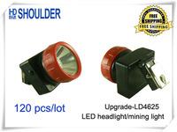 120pcs/lot new LD-4625 Cordless LED mine cap lamp,Mining Cap Light, Head Lamp