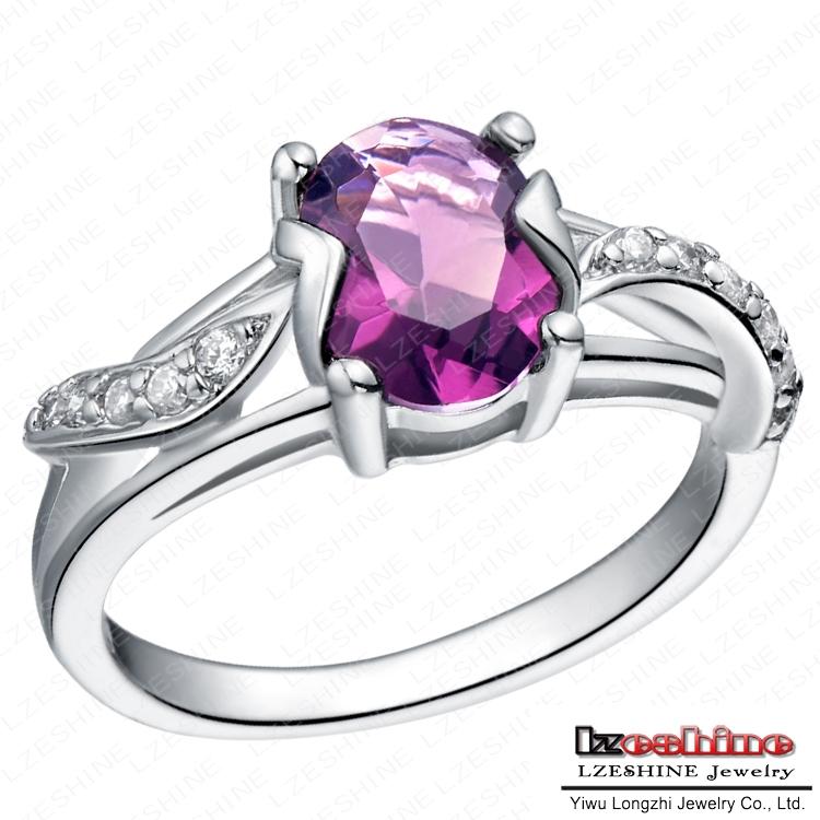 Oval Diamond Prices Oval Cut Purple Diamond