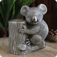 Tinwares piggy bank tin metal piggy bank koala cinereus money boxes Pen case