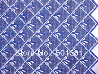 2014 African French Lace, Handcut Voile with Sequins, Wholesale, 2624 ROYAL BLUE COLOR