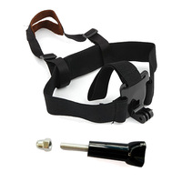 F06731-A Adjustable Light Weight Head Belt Mount Headset Strap + Long Screw W/ Cap for GoPro Hero 3 Hero 2 + US Freeshipping