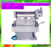 Parts Free shipping  DC-30B desktop manual glue binding machine /Perfect binding machine