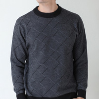 FREE SHIPPING 2013 New Autumn Winter Models Thick Sweater Men Sweater Men Knitwear European Edition