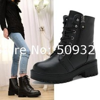 Factory wholesale new female taxi velvet warm boots women boots popular British fashion casual shoes boots