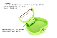Free shipping Kitchen supplies Folding Apple Peeling knives Kitchen tools  5pieces /lot