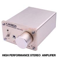 1set A910 Home Hi-fi Stereo Portable Digital Mini Headphone Audio Amplifier For MP3/PC Player Metal + Free Shipping