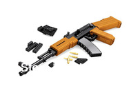 Ausini Toy Gun AK47 Building Blocks Sets Educational Construction Bricks Toys for Children Compatible Free Shipping