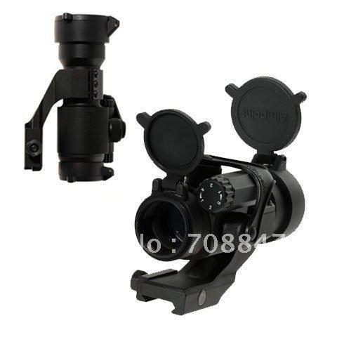 Free shiping! Perfeito Aimpoint M2000 RD3000 2-Mode Red & Green-Dot Sight Riflescope (bateria incluída)(China (Mainland))