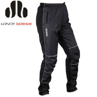 Hot Sale!2012 New Arrival SOBIKE Cycling Bicycle Bike Winter Windproof  Thermal Fleece Pants Winter Tights - Gelimo